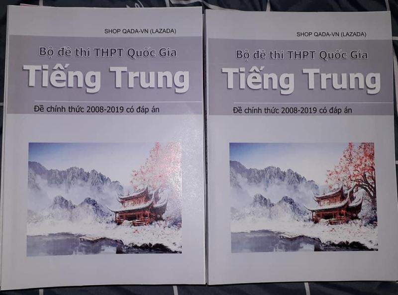 Mua Bộ đề thi THPT Quốc Gia môn Tiếng Trung Quốc (đề chính thức, tặng 1 ebook PPCT)