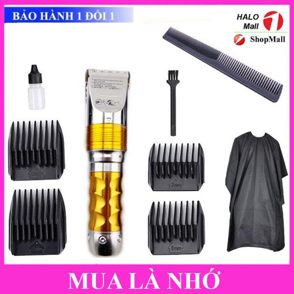 Tông Đơ Hớt Tóc Chuyên Nghiệp Cho Salon HUAERBO F10 TẶNG Lược Cắt Tóc Tiện Lợi(Có Pin Sơ Cua) giá rẻ