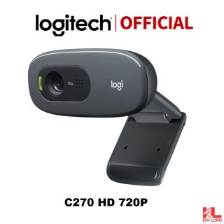 Webcam Logitech C270 HD - Dành cho Gọi Video góc rộng với micro giảm tiếng ồn và tự động chỉnh sáng, cắm và sử dụng ngay thumbnail