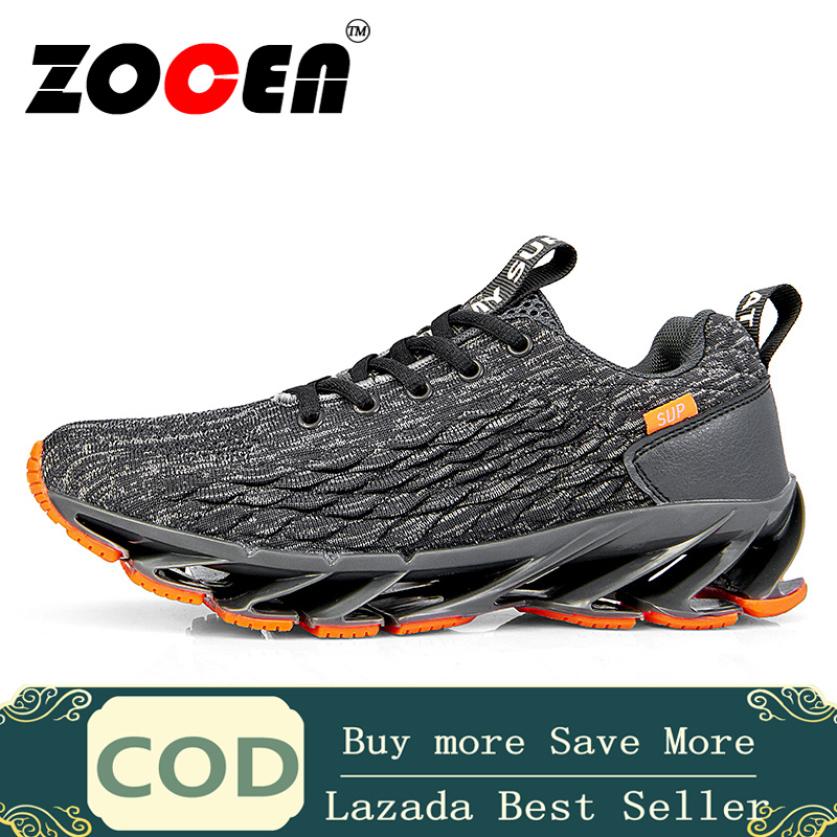 Giày thể thao sneaker nam chất liệu lưới thoáng khí êm chân có đệm hút mồ hôi ZOCEN giá rẻ
