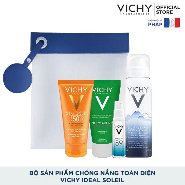 Bộ sản phẩm chống nắng toàn diện Vichy Ideal Soleil cao cấp