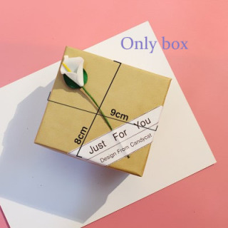 [Hot Sale] FAIRY PINK Watch Box Gift Box Decoration watch Bracelet Box Bracelet Couple Watch Box Birthday Gift 7