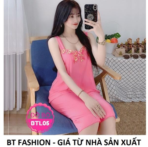 Đồ Bộ Mặc Nhà Vải Thun Lạnh Mền Mát - BT Fashion (HD LẠNH - LỮNG Ren)
