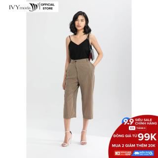 Quần lửng cạp chéo nữ IVY moda MS 21M6274 thumbnail