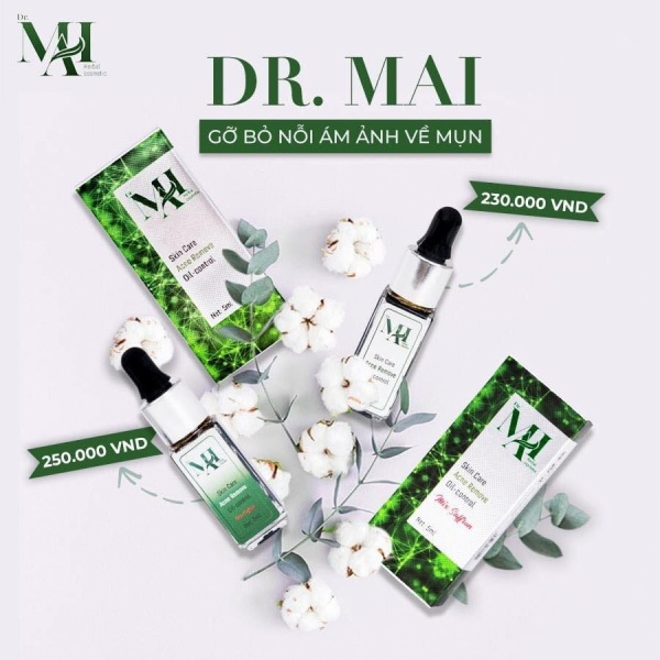 DR MAI NGUYEN CHAT + gel rửa tay khô kháng
