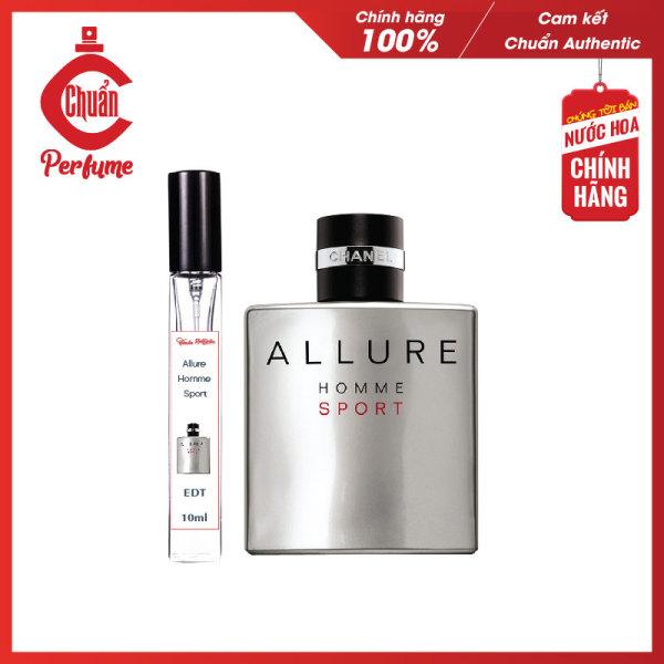 Nước Hoa Nam Chanel Allure Homme Sport EDT [Mẫu Thử 10ml] - Chuẩn Pefume