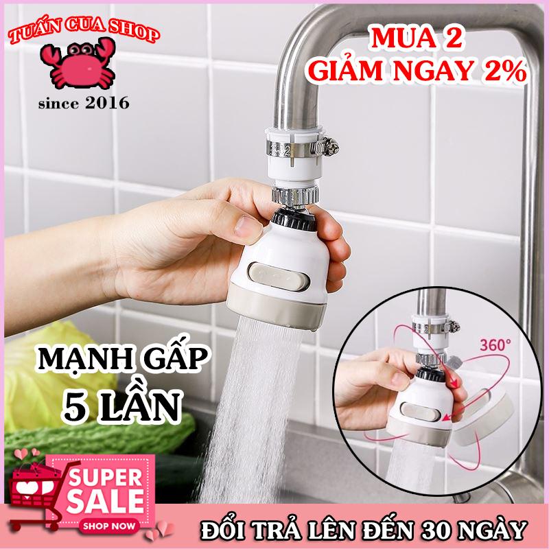 Bảng giá Đầu nối tăng áp 3 chế độ cho vòi rửa bát, phụ kiện vòi nước, đầu tăng áp, đồ dùng gia đình, tăng công suất xả nước, tuancua
