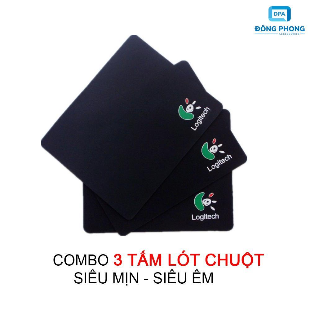 Bộ 3 Miếng Lót Chuột Logitech