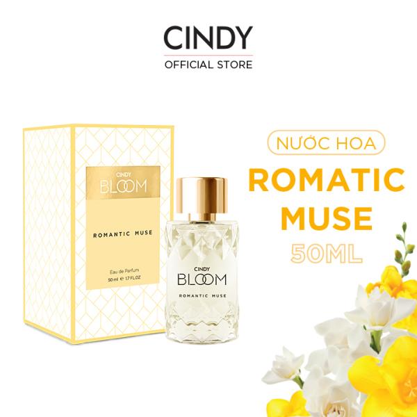 Nước hoa Cindy Bloom Romantic Muse 50ml - Quyến Rũ giá rẻ