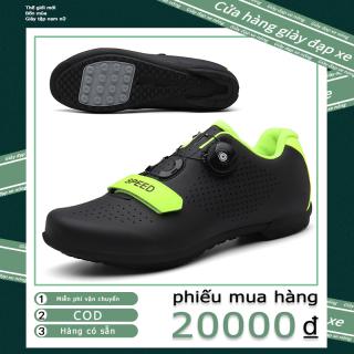 Giày đi xe đạp mới 2021, giày xe đạp, giày thể thao, giày giá rẻ thoáng khí chống mài mòn, đế nylon cao su unisex size lớn 36-46 thumbnail