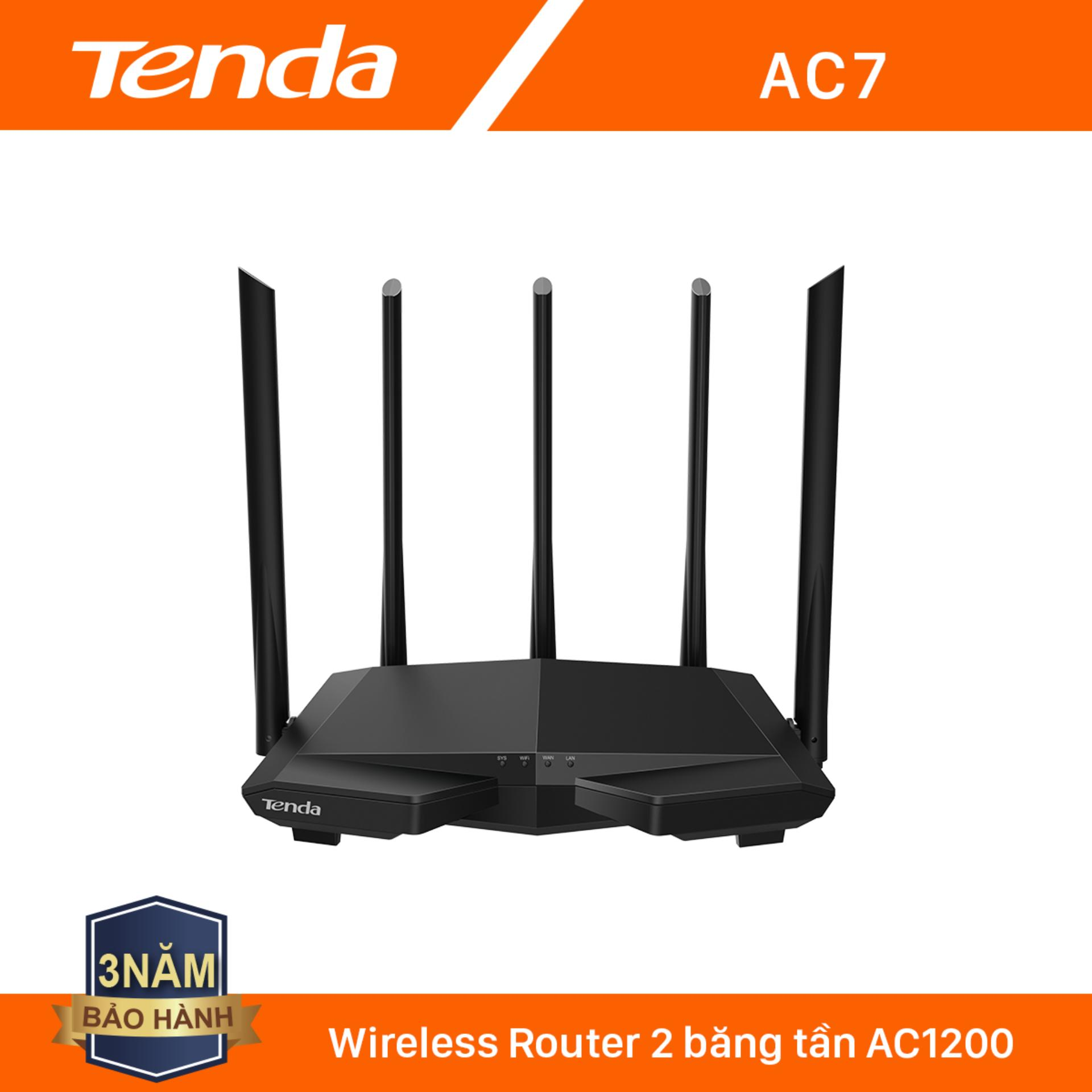 Giá Tenda Thiết bị phát Wifi AC7 Chuẩn AC 1200Mbps - Hãng phân phối chính thức