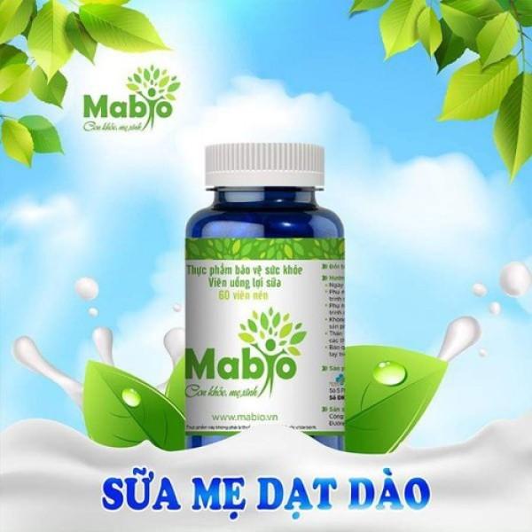 MABIO - Viên uống lợi sữa Mabio - Tăng chất lượng sữa mẹ nhập khẩu