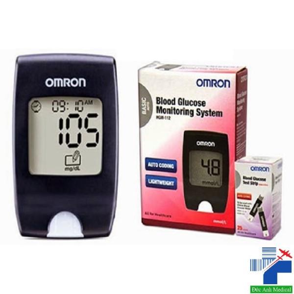 Nơi bán Máy đo đường huyết Omron HGM 111&112 [tặng kèm que thử + kim lấy máu]