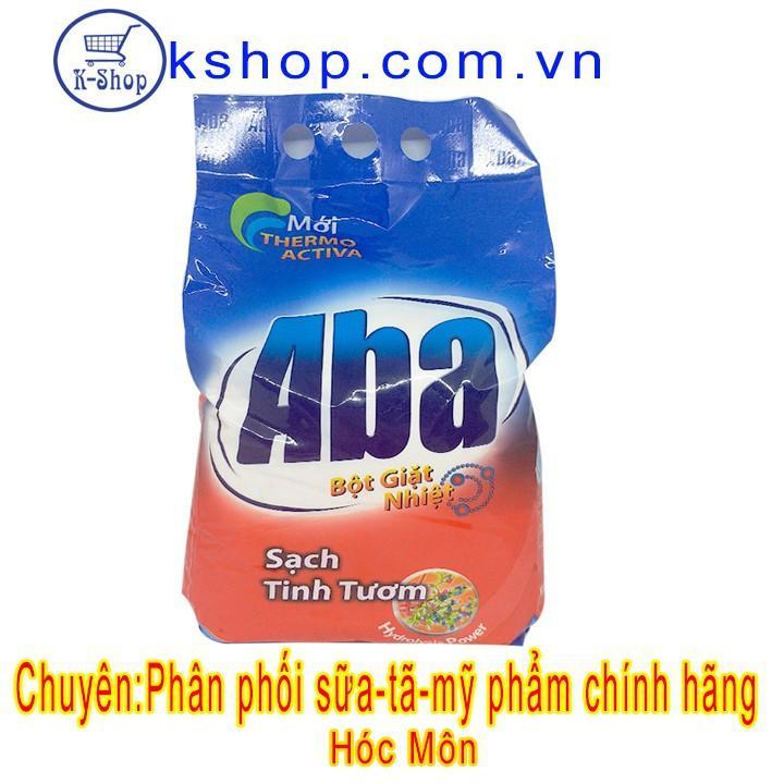 Bột Giặt Nhiệt Aba Sạch Tinh Tươm 3kg Đang Có Giảm Giá