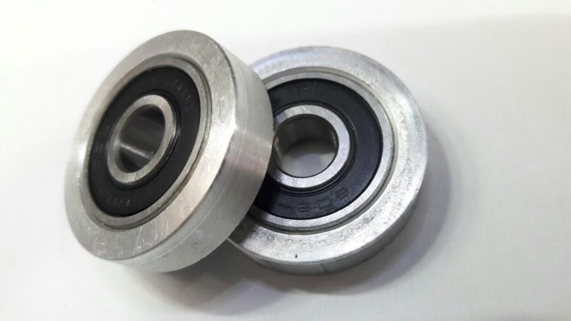 Bộ 2 vòng bi 608, bạc đạn 608 ( đóng sẵn semi ) cao cấp dùng cho khung đầu quạt, bộ nắp nhôm quạt - Điện Việt, tuổi thọ bền bỉ, vận tốc đạt chuẩn, khả năng làm việc trong điều kiện vận hành cao