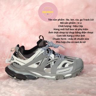 Sỉ lẻ giày sneaker các mẫu giày dép thể thao nữ thể thao nam BALENCIAGA TRACK Màu Xám đế tách phân tầng full box và phụ kiện và tặng tất (Vớ) thumbnail