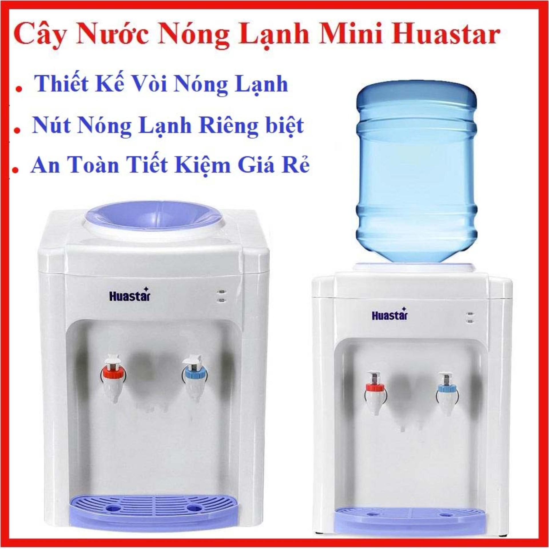 Giá Cây nước nóng lạnh Mini Huastar 1 vòi nóng và 1 vòi lạnh với công tắc vòi nóng lạnh riêng biệt Điện máy