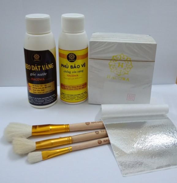 Mua Combo dát vàng siêu tiện lợi gói BASIC dành cho người sử dụng ít, chuyên dùng dát vàng đồ thủ công mỹ nghệ, đồ thờ, đồ dùng cá nhân, tượng phật