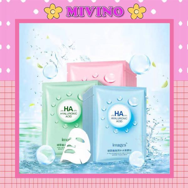 Mặt nạ Mivino mặt nạ dưỡng da cấp ẩm mềm mịn HA nội địa trung MN03