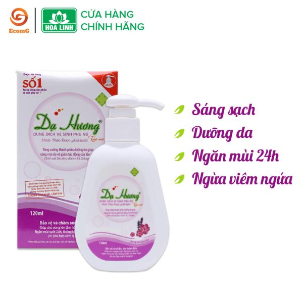 Dung dịch vệ sinh phụ nữ dạng gel Dạ Hương Lavender huyền bí - 120ml - DH1-01, làm sạch nhẹ nhàng, khử mùi hôi, mang lại cảm giác tự tin cho phái đẹp nhập khẩu