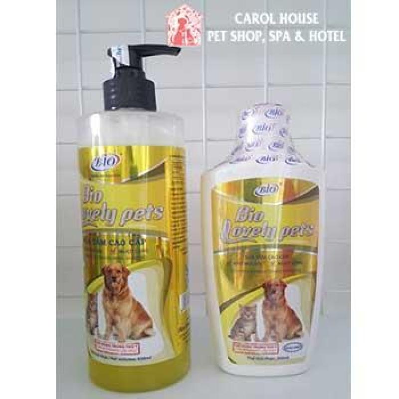 Sữa Tắm Bio Lovely Pets Giúp Làm Siêu Mượt Lông Cho Chó Mèo Và Khử Mùi Hôi Lông