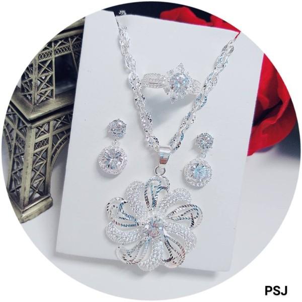 Bộ trang sức đẳng cấp quý phái bạc ý 9.25 cho nữ, sản phẩm tốt và đạt chất lượng cao, cam kết giống như hình ảnh
