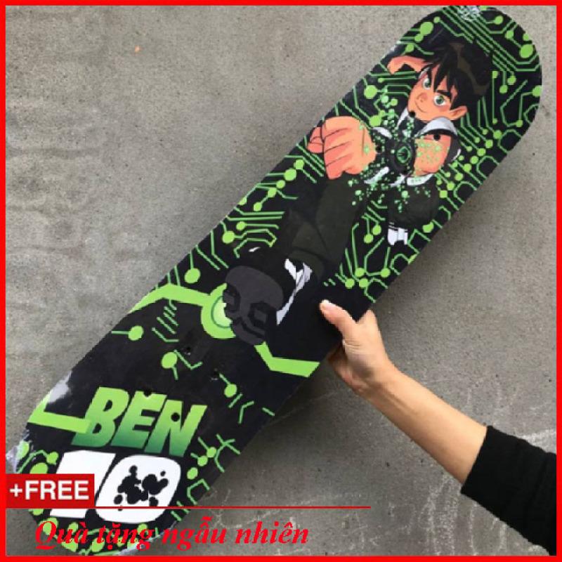 Giá bán Ván Trượt Ben 10 Độc Đáo Cho Bé (Skateboard )