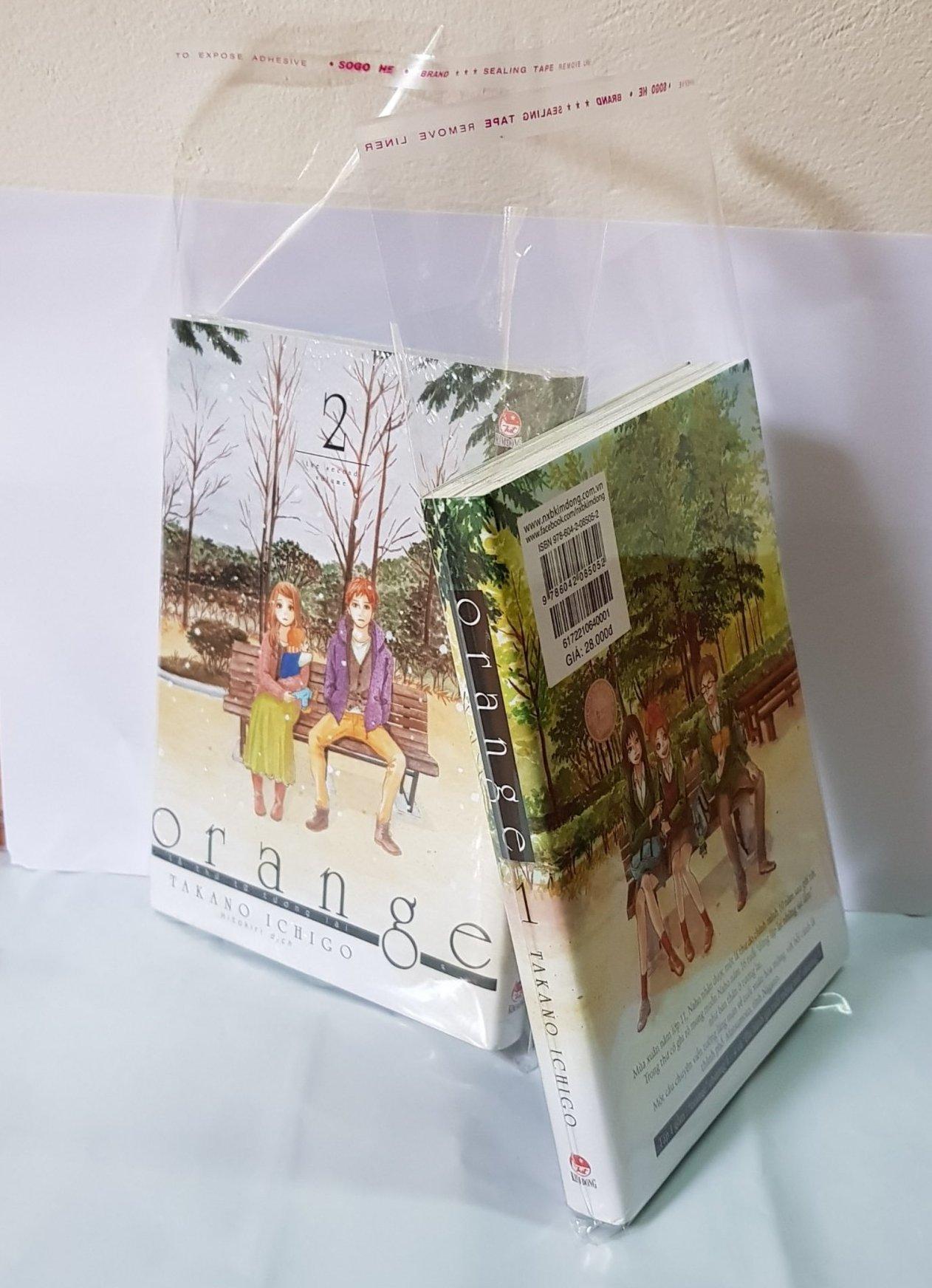 Mua Bọc túi bảo quản sách truyện (kích cỡ túi: 15x22cm) mã sp TP3