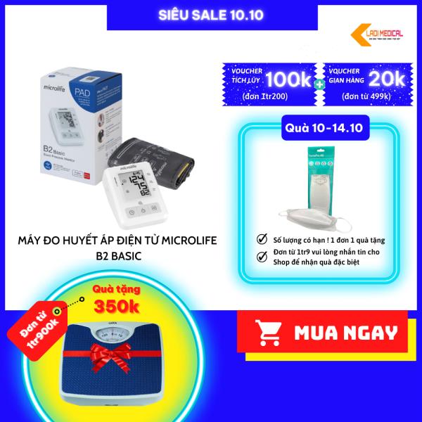 Nơi bán Máy Đo Huyết Áp Điện Tử Microlife B2 Basic