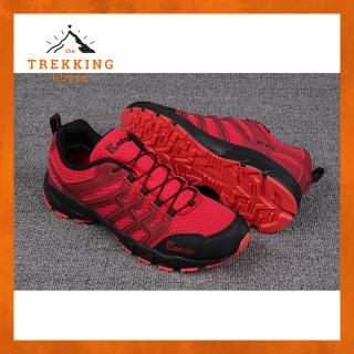 Giày leo núi trekking chống thấm nước Kastinger, Giày chạy trail dã ngoại outdoor Đỏ-Đen thumbnail