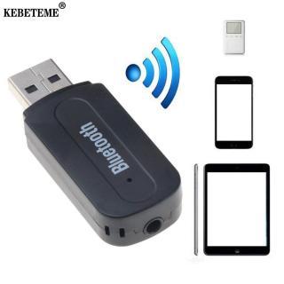 Kebeteme USB Bluetooth Âm Thanh Nổi Nhạc Thu Âm Thanh 3.5 Mm Âm Thanh Stereo Cho Âm Thanh Loa Hộp Adapter Xe Bộ Dongle Cho điện Thoại Nhà DVD Loa Máy Tính Tai Nghe MP3 Dũng YenLuong thumbnail