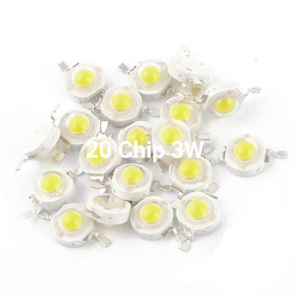 Combo 20 Chip Led Luxeon 3W