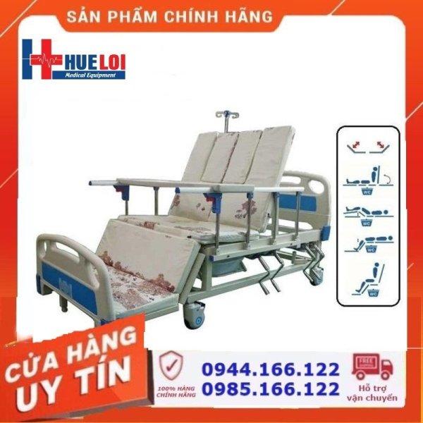 Giường y tế hạ chân to đa chức năng HL3 - Giường bệnh nhân ( Giá 9 triệu đồng)