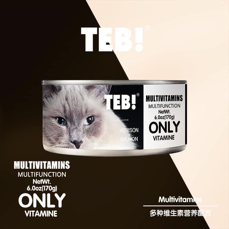 Pate Cho Mèo Bổ Sung Vitamin Teb Canada 09