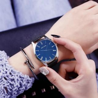 Đồng hồ nam nữ Mstianq MS28 thời trang, mặt ám xanh tuyệt đẹp thumbnail