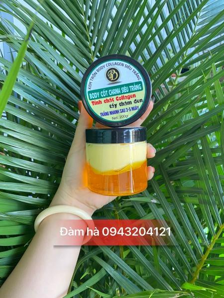 [Tặng thìa]  Kem Body Cốt Ủ body siêu trắng- Cốt Thái Lan Tẩy Trắng Spa Mix Collagen Khử Thâm