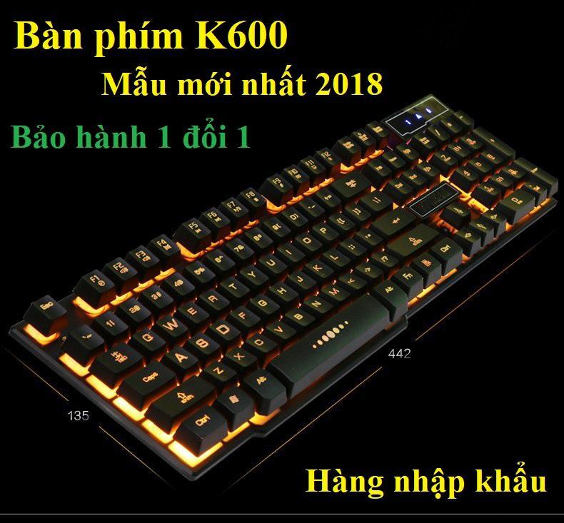 Bàn Phím Cơ FuhSnap M87S đắt hơn bàn phím K600-169 này, bàn phím cổng usb cho laptop - Top 10 bàn phím chơi Game Đẹp, Chất, Giá Tốt, độ nhạy cao