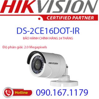 [HCM]Camera HD-TVI hồng ngoại 2.0 Megapixel HIKVISION DS-2CE16D0T-IR (C-Vỏ sắt) thumbnail