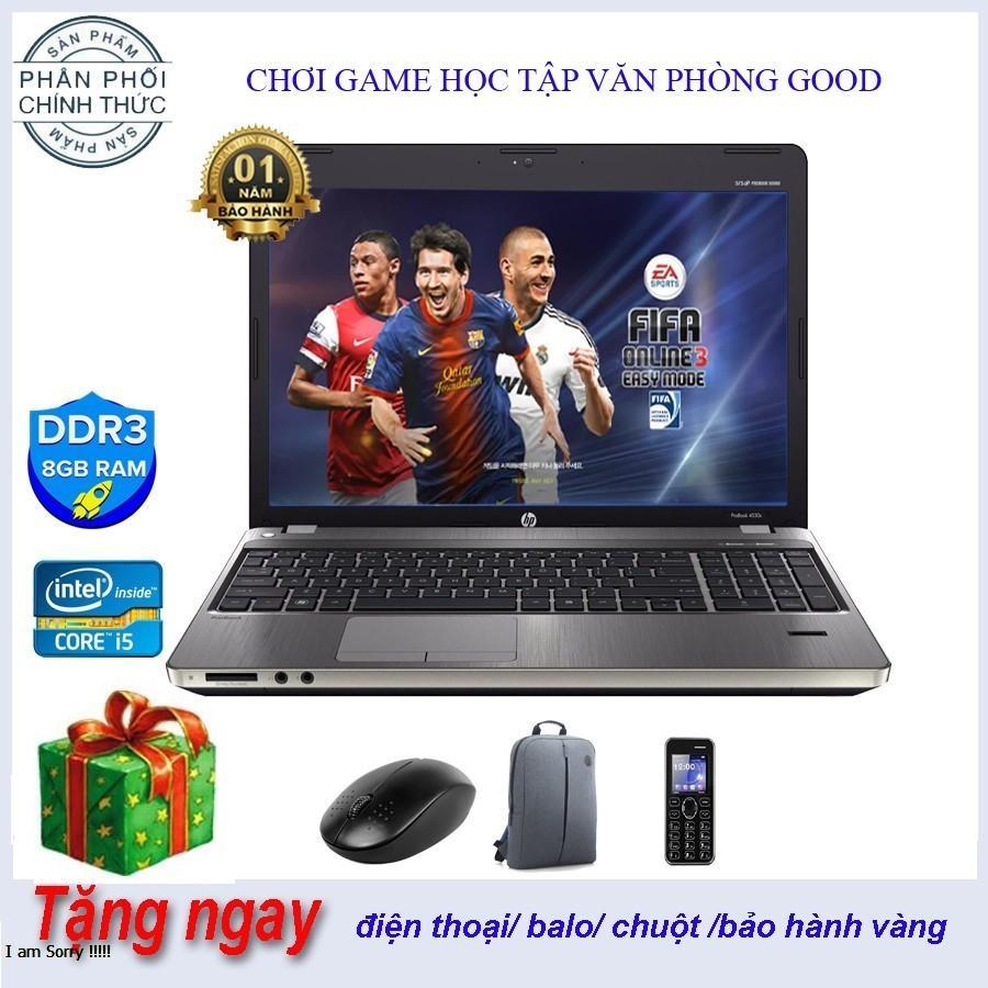 Laptop HP 4730S i5/SSD128G + 500 GB HDD/8G đẹp không tì vết Hàng Nhập Khẩu Japan Giá sốc