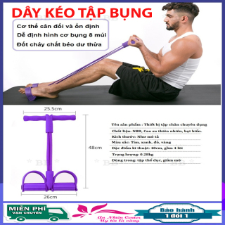 Dây tập thể dục đa năng Tummy Trimmer, dây tập cao su, tập Gym, tập bụng, tập cơ bụng, tập lưng bụng - Dụng cụ tập thể hình tại nhà, chất liệu cao su bền dai, nhựa cao cấp thumbnail