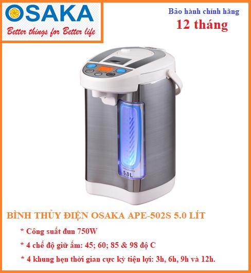 Bình Thủy Điện Osaka APE-502S (5 lít)
