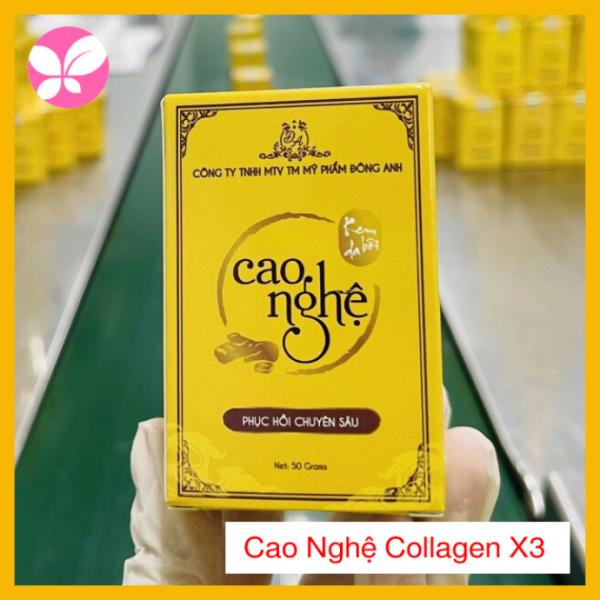 Cao nghệ Collagen X3 Đông Anh 50gr - Chính hãng - Dưỡng ẩm chuyên Sâu - Giảm thâm nám - Trắng da hiệu quả giá rẻ