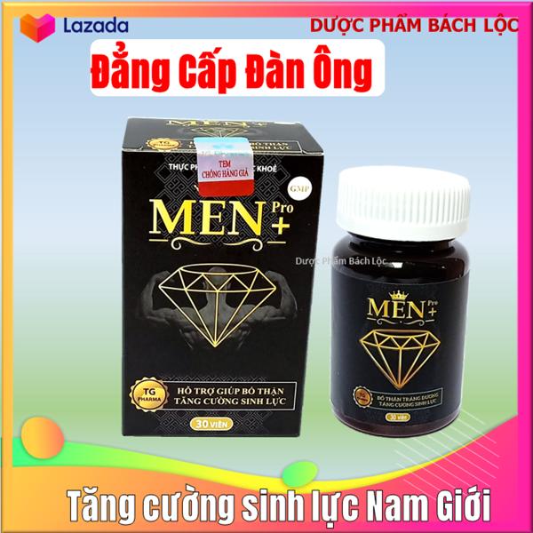 Viên Uống Tăng cường sinh lý cực mạnh Men Pro - Giúp tăng cường sinh lý mạnh hơn, bền vững hơn- hôp 30 viên giá rẻ