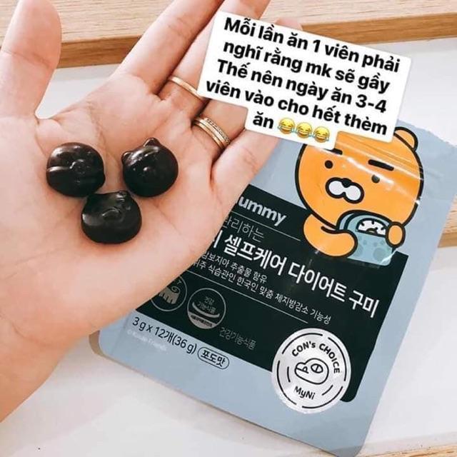 Kẹo dẻo giảm cân Diet Gummy Kakao Friends đẹp da hàng chính hãng Hàn Quốc chính hãng