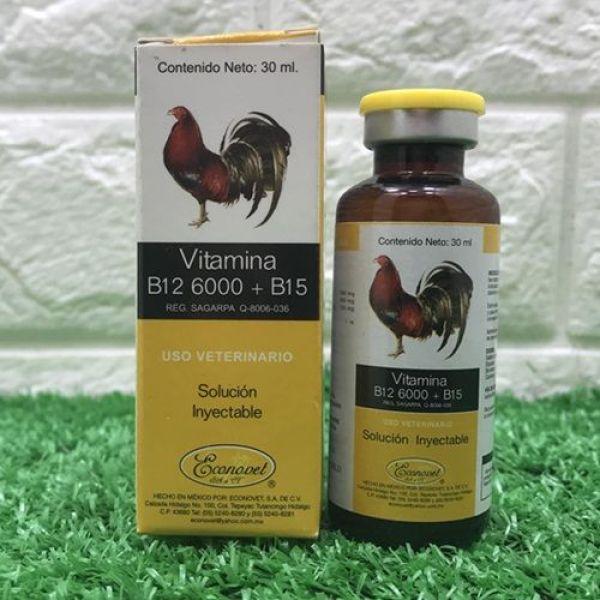 [ Giá rẻ] B12 6000 b15 chai 30 ml-chích gà sung đá bo lớn-hàng chính hảng