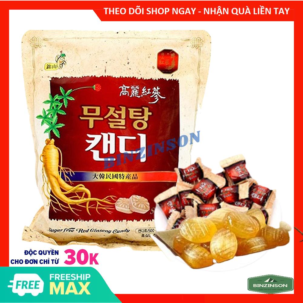 [HCM]Kẹo sâm Không Đường 500g Chính Hãng Hàn Quốc - THƯỢNG HẠN CAO CẤP - BINZINSON - Ăn vặt Hàn Quốc
