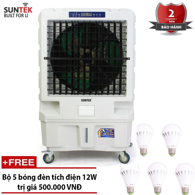 Bảng giá Quạt điều hòa– Máy làm mát không khí công suất cao SUNTEK SL130 Remote + Tặng 5 bóng đèn tích điện 12W
