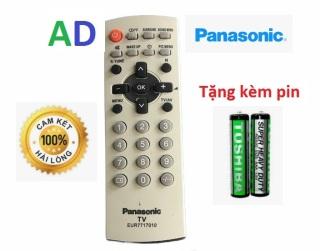 Điều Khiển TiVi panasonic CRT dùng cho các loại tivi Panasnonic đời cũ màn hình dầy - Tặng kèm pin chính hãng Remote Panasonic LCD cổ - Remote panasonic loại tivi cổ dầy cong ngày xưa thumbnail