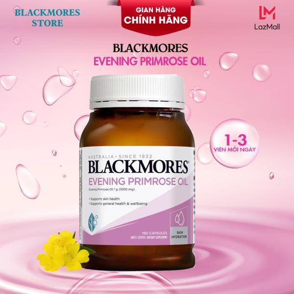Viên uống  Tinh Dầu Hoa Anh Thảo hỗ trợ cân bằng nội tiết tố nữ  Blackmores Evening primrose oil 190 viên