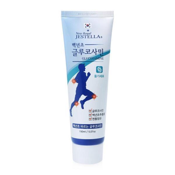 [Sale] Dầu LẠNH NEW ROYAL JESTELLAs xoa bóp khớp tay, chân Glucosamine loại đặc biệt bổ sung 2 lần collagen 150ml ( Made in Korea - Hàn Quốc )